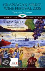 Okanagan Wine Festivals 2006 Cover by Kendra Smith