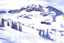 Whistler Bowl Kendra Smith Art Mountain Galleries